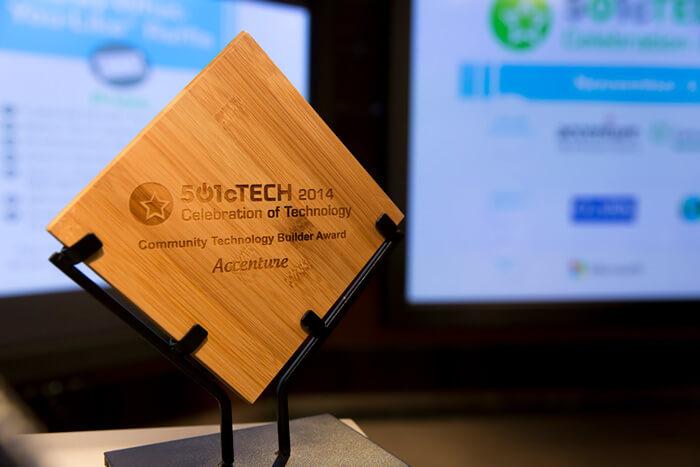 nonprofit event award design