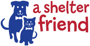 A Shelter Friend logo design horizontal