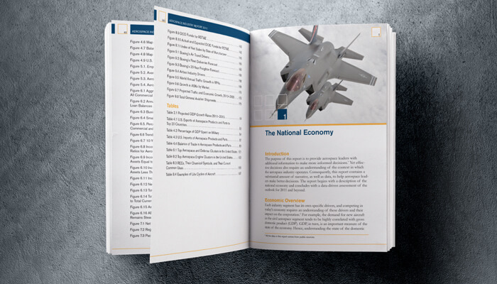 aerospace industry book design