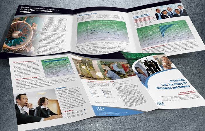 policy brochure design and layout