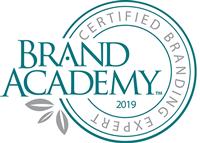 Brand Academy Certified Branding Expert.