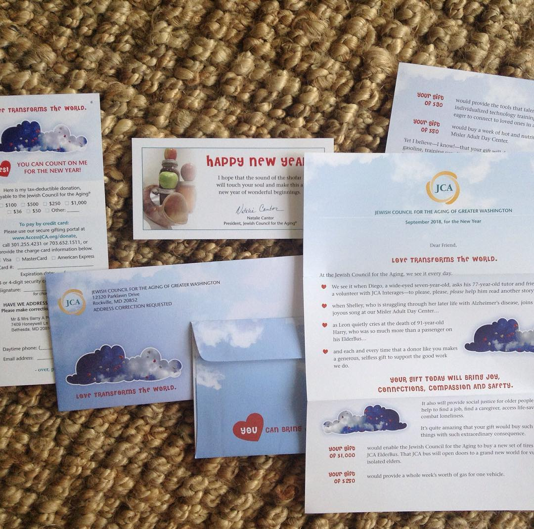 Direct mail package