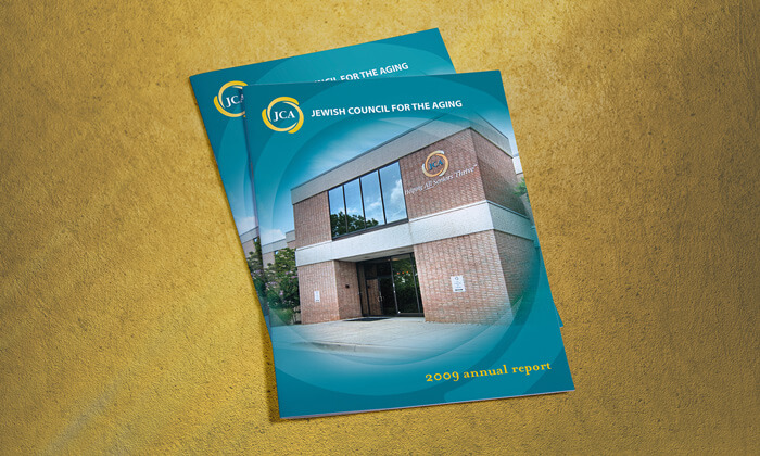 Maryland nonprofit annual report cover design