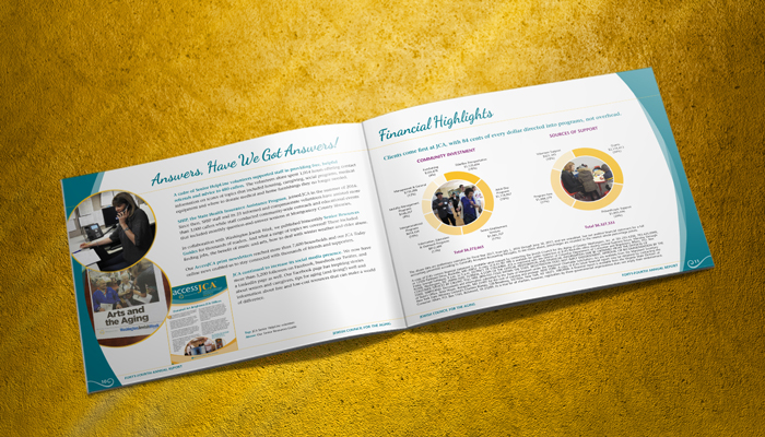 JCA annual report design