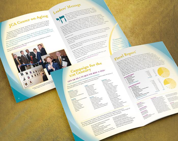 nonprofit annual report design