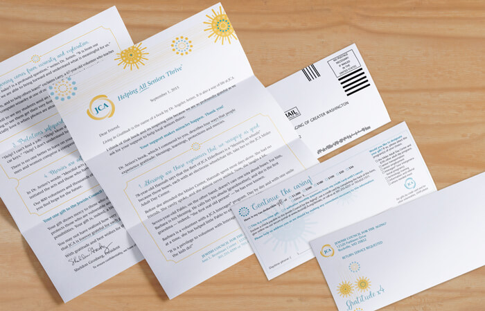 direct mail package design