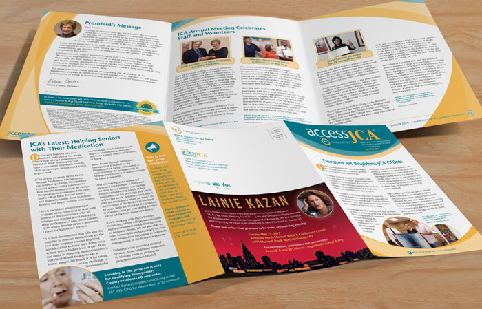 nonprofit newsletter design