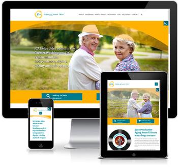 JCA website redesign