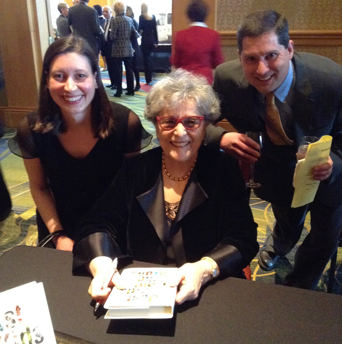 Meeting Arlene Alda at book signing