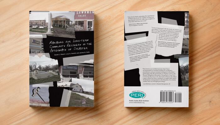 risk management book cover design