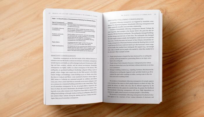 risk management book layout