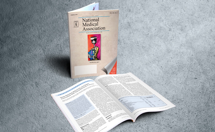 medical journal layout