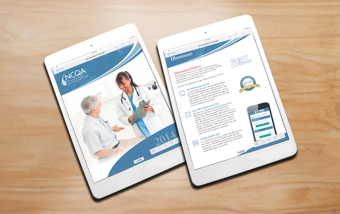 healthcare nonprofit annual report design