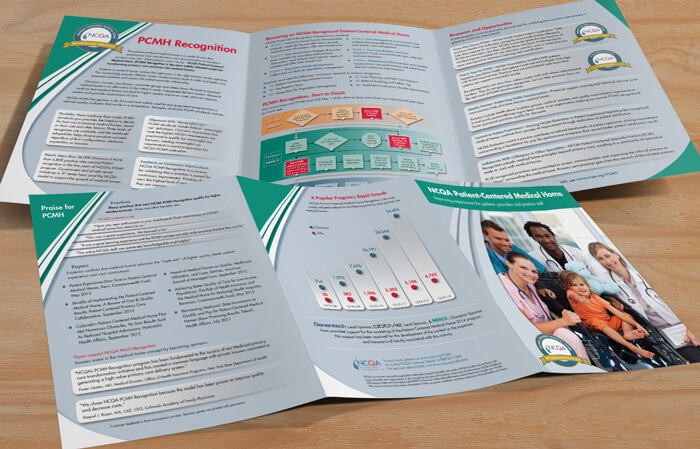 healthcare brochure design