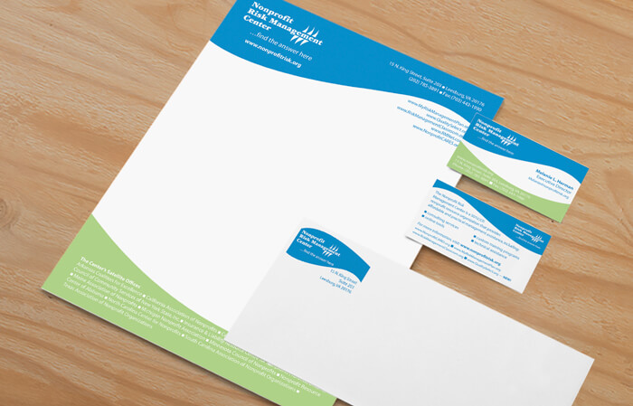 nonprofit stationery package