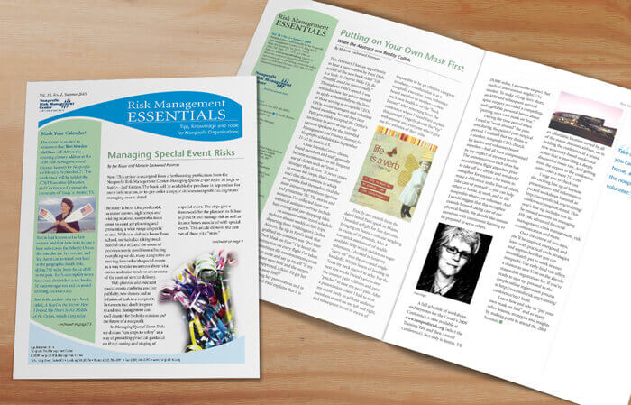 nonprofit newsletter design