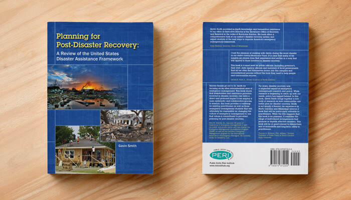Planning for disaster recovery book design and layout gratzer nonprofit book cover design malvernweather