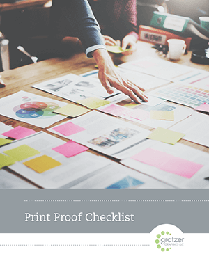Print Proof Checklist
