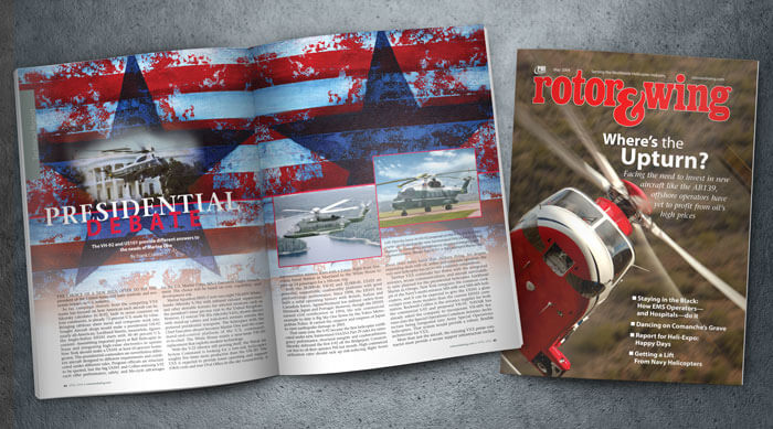 aviation magazine layout