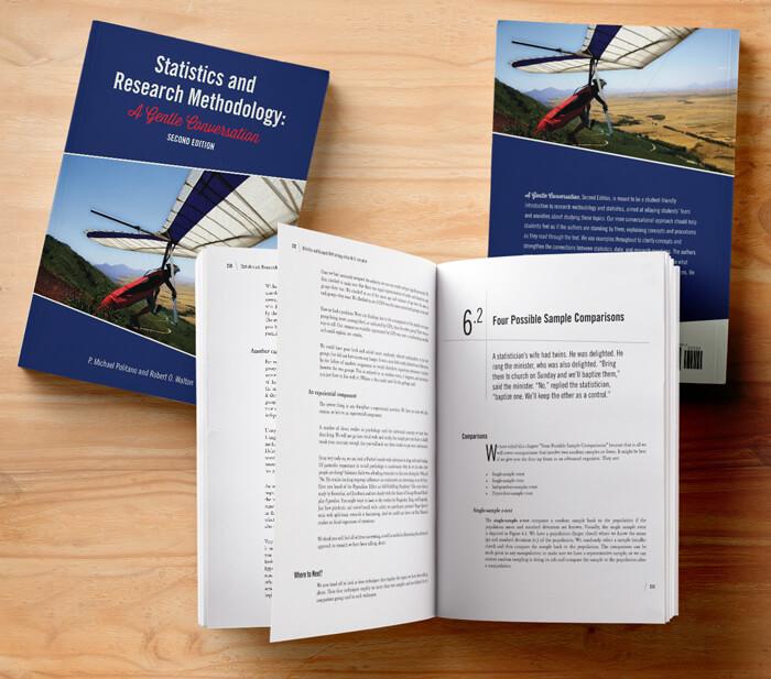 statistics textbook design