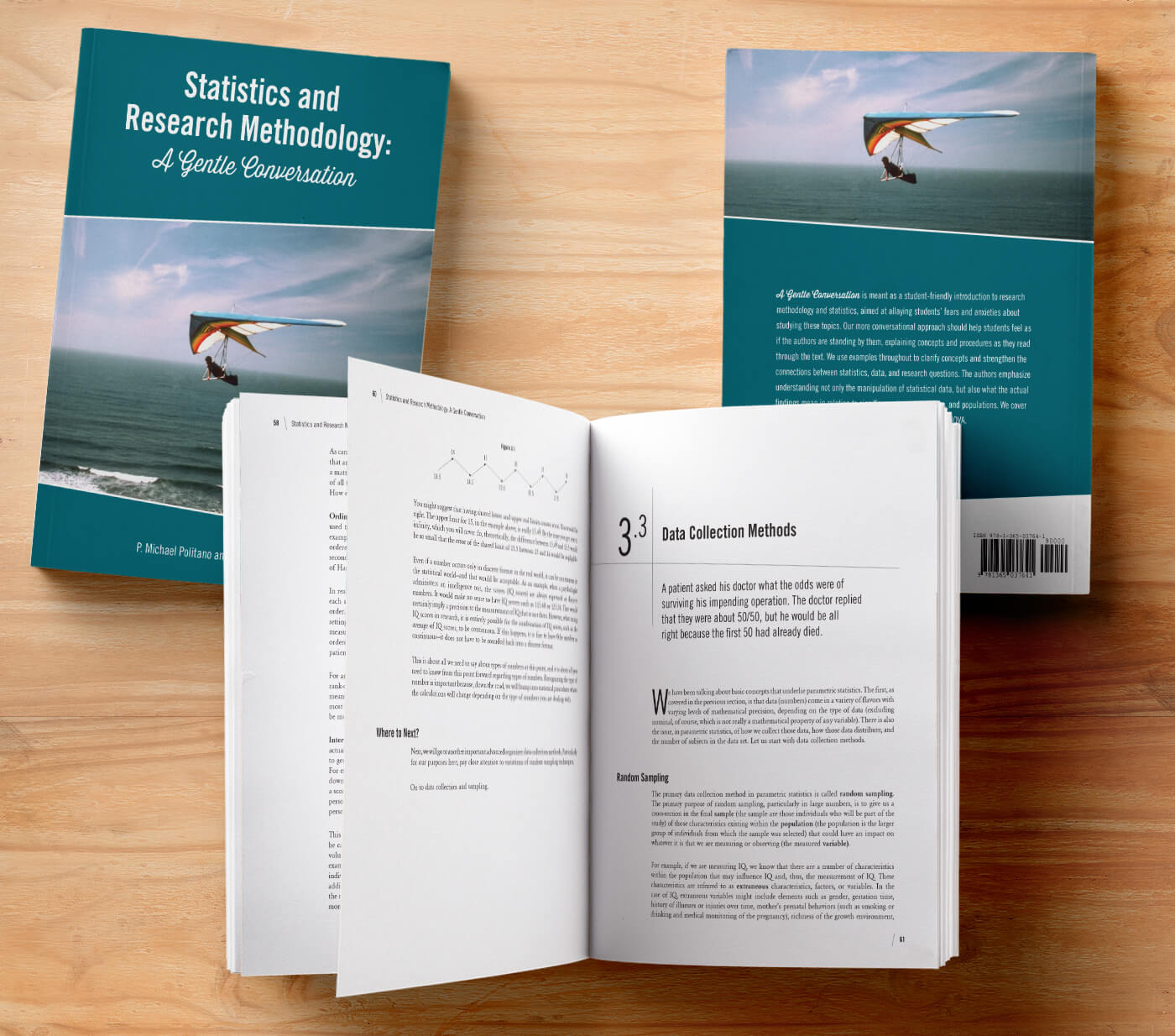 Statistics Textbook Design and Layout
